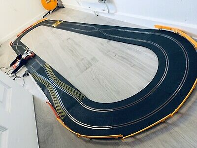 Custom Scalextric Rally Set, Classic Track /Modern Start Cars, Serviced, Ages 5+ • 19.99£