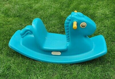 Little Tikes Rocking Horse Green • 4.99£