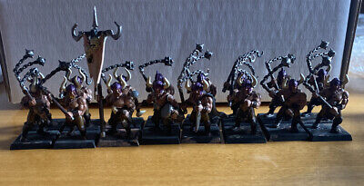 Warhammer Fantasy Chaos Marauders X16 With Flails AoS Slaves To Darkness • 11.50£