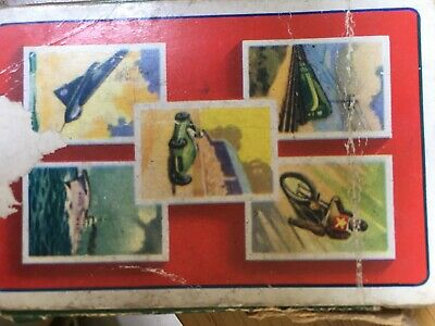 Vintage Speed Card Game From Pepys. Stirling Moss, Spitfire, Speedway, CuttySark • 0.99£