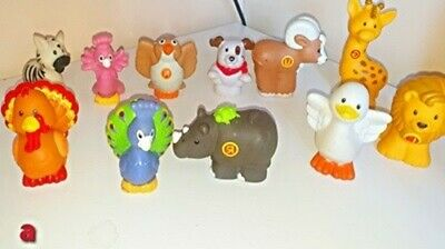 Fisher Price Animals  Figures X 11 • 2.30£