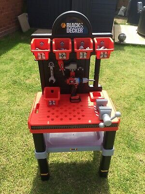 Childs Black And Decker Workbench By Smoby • 25£