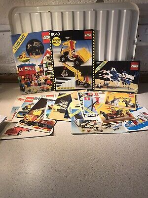Lego Instruction Sheets/ Books/ Stickers • 8.99£