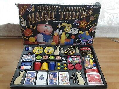 Marvin's Amazing Magic Tricks Deluxe Edition 225 Trick Set • 1.50£