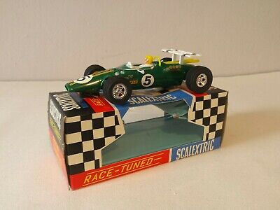 Scalextric C8 Lotus Indianapolis #5 Powersledge Original Box And Instructions  • 49.97£