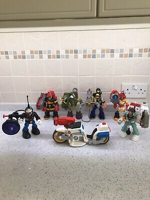 Fisher Price Action Heroes Job Lot. • 29.99£