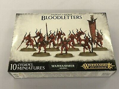 Daemons Of Khorne - Bloodletters - SEALED • 9£