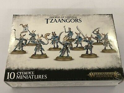 Disciples Of Tzeentch - Tzaangors - SEALED • 12.57£