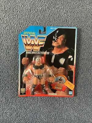 WWF Hasbro Warlord MOC Excellent Condition • 160£