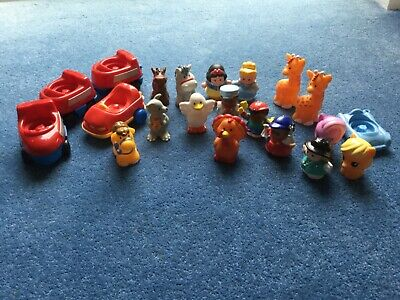 Fisher Price Little People Bundle Inc Disney Princesses, Horses, Zoo Animals • 5£
