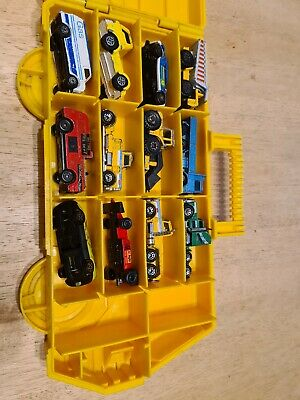 Matchbox Case With 12 Toy Cars • 12£