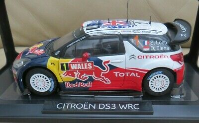 NOREV Collection 1:18 Rally Car Citroen DS3 WRC Wales GB 2011 • 24.99£