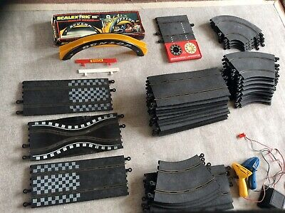 Used  Scalextric Track Job Lot Over 35 Pieces • 19£