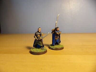 Games Workshop Warhammer LOTR Painted,  Elrond And Gil-Galad Resin • 10£