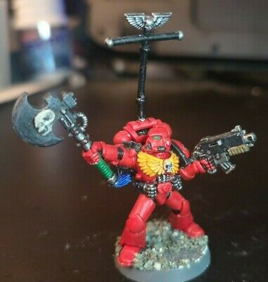 40k Classic Veteran Sergeant With Power Axe (Metal, 2nd Edition) • 3.99£
