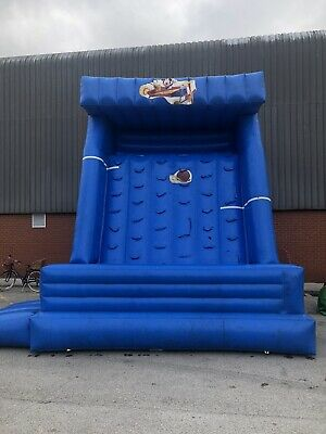 Industrial Inflatable Climbing Wall, • 850£