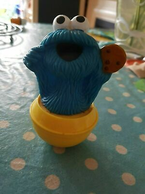 Vintage 1970 Jim Henson's Sesame Street - Big Bird & Cookie Monster Rocking Toy • 6£