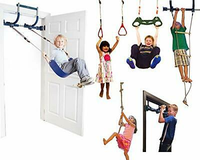Gorilla Gym Deluxe Indoor Playground With Indoor Swing, Plastic Rings, Trapeze • 279.84£