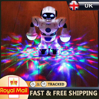 Toys For Boys Kids Music Dancing Robot For 3 4 5 6 7 8 9 10 11 Years Age Gift UK • 10.99£