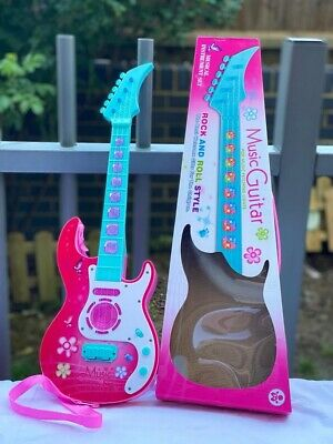 Girl Electric Rock Guitar Musical Instrument Educational Toy Music Light Size 53 • 12.99£
