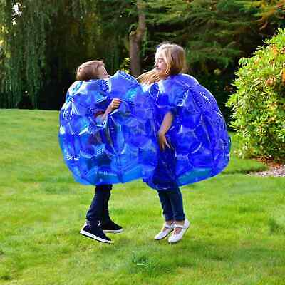 New Pack Of 2 Amazing Kids Inflatable Sumo Bumper Balls Garden Or Beach • 32.98£