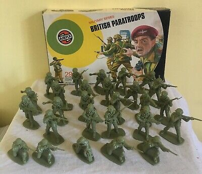 1973 Airfix 1:32 Plastic Soldiers  British Paratroopers  Boxed  • 15.99£