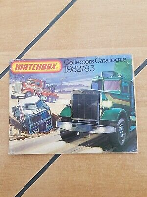 Matchbox Collectors Catalogue 1982/83 • 1.20£