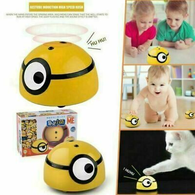 Minions Intelligent Escaping Toy Cat Dog Walk Interactive Toys Kid/Pet Baby • 9.99£