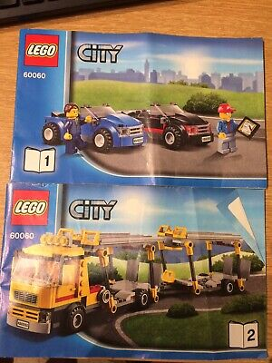 Lego 60060 Manuals ~ Book 1 And 2 Only ~ No Bricks • 5£