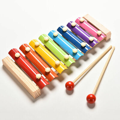 Baby Children's Xylophone Educational Music Wooden Toy Cheapest On Ebay • 6.99£