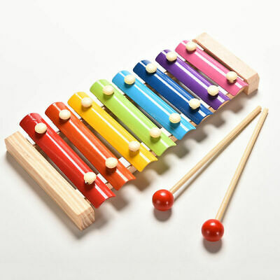 Baby Children's Xylophone Educational Music Wooden Toy Cheapest On Ebay • 6.89£