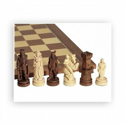 Chess Figures - Nice Carved - Maple - Kings Height 100mm • 1,206.72£