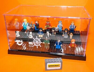 BRICKLIGHT acrylic Model Display Case Box For LEGO Mini Figures Minifigures  • 15.99£