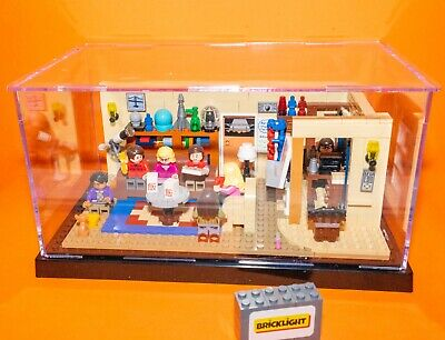 BRICKLIGHT acrylic Model Display Case Box For LEGO 21302 The Big Bang Theory • 16.99£