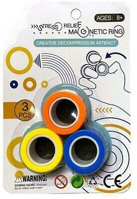 Fingears Magnetic Ring Toy - Finger Spinner Toy Multi Activity Stress Relief  • 2.99£