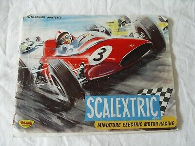 Early Scalextric Brochure 5th Edition. • 4.25£
