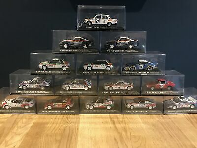 Ixo Diecast Atlas - 1:43 Scale Rally Cars - Choose Your Favourite 1/43 Diecast • 29.99£