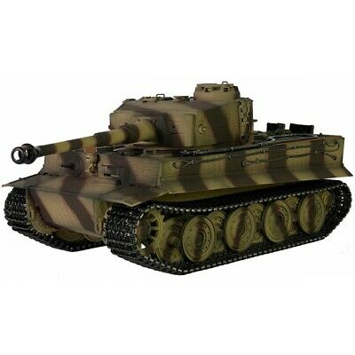 TAIGEN HAND PAINTED RC TANK - FULL METAL UPGRADE - TIGER - 360 TURRET Great Fun! • 340£