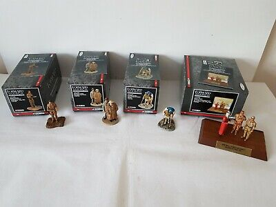 Corgi Forward March 1:32 CC59182 CC59192 CC59193 & CC59180 Metal Figures. • 22£