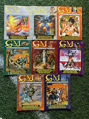 GM The Independent Fantasy Role Magazines 8 Issues  • 24.99£