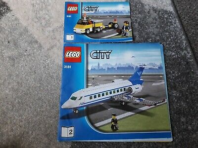 Lego City 3181 Passenger Plane Instruction Books 1 + 2  • 4.95£