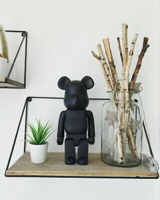 Bearbrick Action Figure Ornament Toy Collection 400% 28CM (Black) UK SELLER NEW • 12.99£