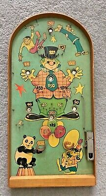 Vintage Pinball Bagatelle Game Clown Circus Rare • 60£