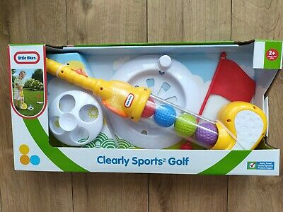 Little Tikes Clearly Sports Golf Outdoor Fun Garden Summer Toy Years + Bnib • 14.99£