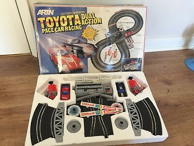 Vintage Artin Toyota Pace Car Racing Scalectric • 29.99£