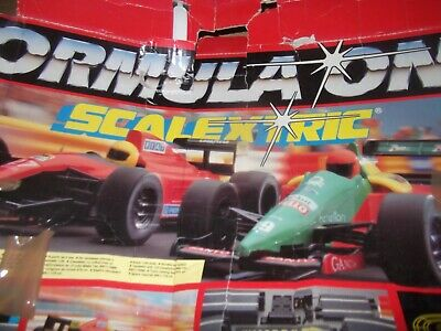 Scalextric FORMULA ONE BOXED SET IN GOOD WORKING CONDITION  • 49£