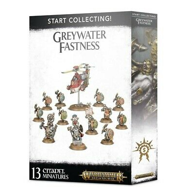 Start Collecting! Greywater Fastness Games Workshop Brand New 99120205037 • 54£