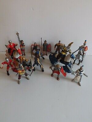 Bullyland Papo & ELC Knights & Horses Figures • 18£