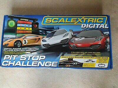 Scalextric Digital Pit Stop Challenge Boxed Set • 129£