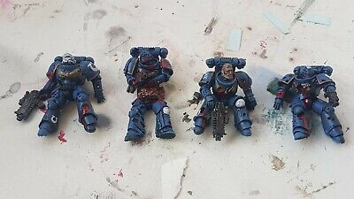 Dead/Dying Primaris Space Marines For Bases/Objective Markers/Dioramas • 4.20£